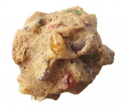 Pecan fruitcake cookies