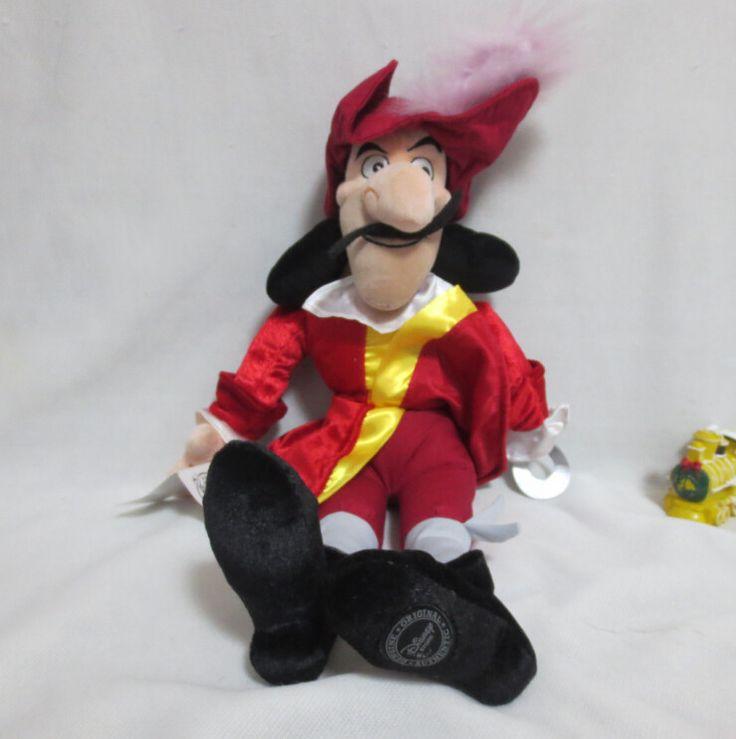 Оригинал джейк и никогда земли пираты питер пэн 50 см капитан крюк джейк е ос piratas плюшевые куклы и игрушки