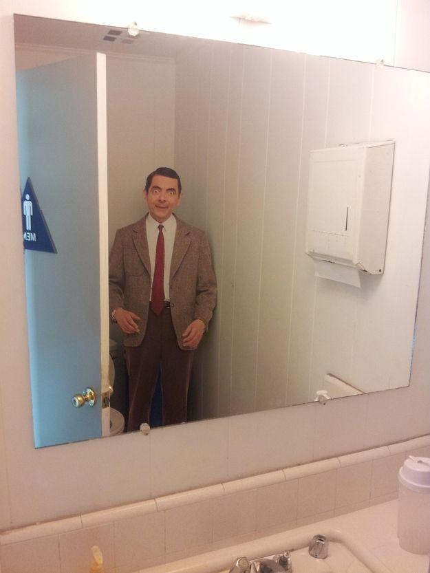 Bathroom Break For Work : Ideas about pranks at work on pinterest april