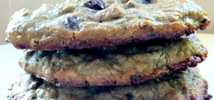 Flourless Lentil Peanut Butter Cookies