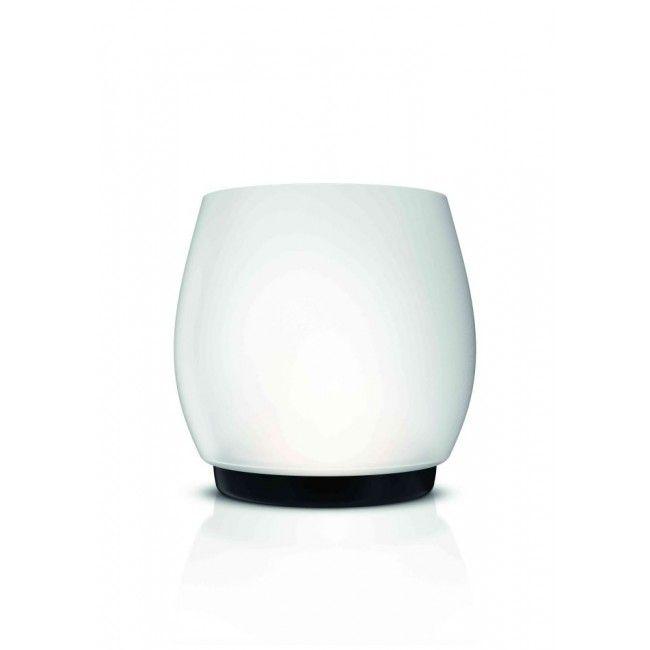 Philips myLiving LED Tischleuchte Bolton 432696716, 270lm, satiniertes Glas weiss