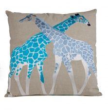 Giraf Kussen grijs | Wereldwinkels
