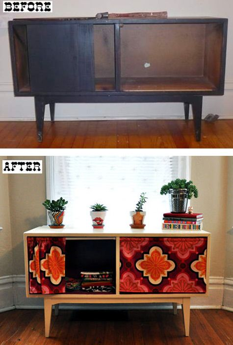 Retro Style Cabinet Redo