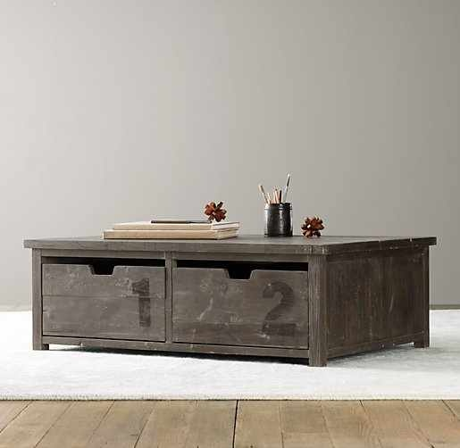 Kid friendly coffee table? With rounded edges. Good for