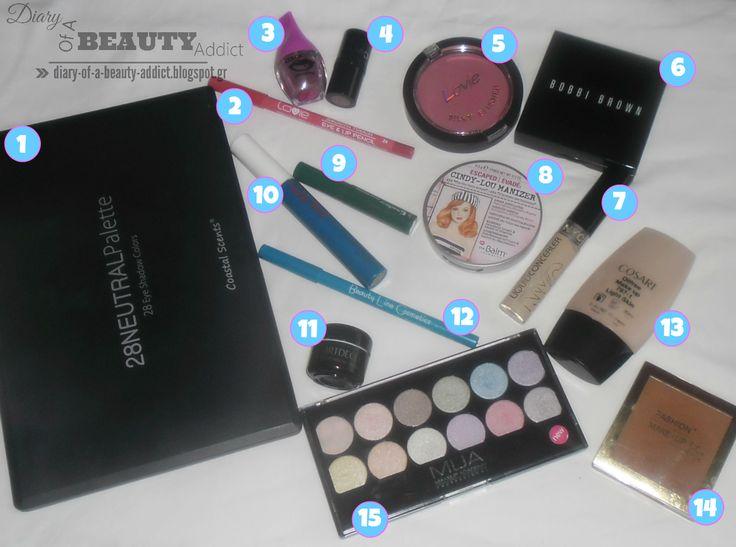VIDEO: Summer Makeup (blue