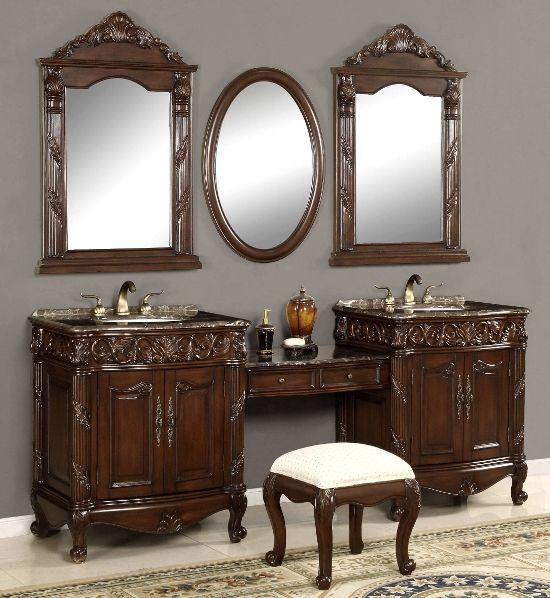Bathroom Makeup Vanity Pictures: 17 Best Ideas About Bathroom Makeup Vanities On Pinterest