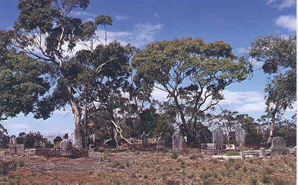 old australian graves  Casterton