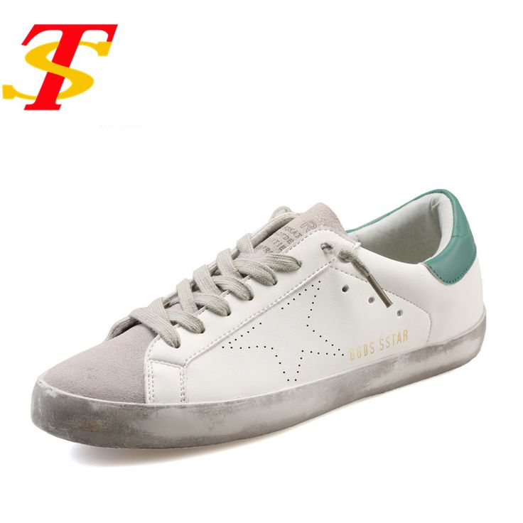 TS New Superstar Fashion Leather Dirty Men Shoes Lace-Up Couple Shoes Golden Goose Breath Footwear Tenis Feminino Zapatos Hombre