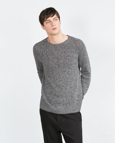 Sweter. Bawełna - syntetyki. Zara JZ '15