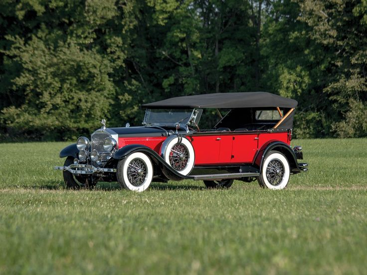 1929 Stearns-Knight J-8-90 Seven-Passenger Touring - (F. B. Stearns Co. Cleveland, Ohio 1899-1930)