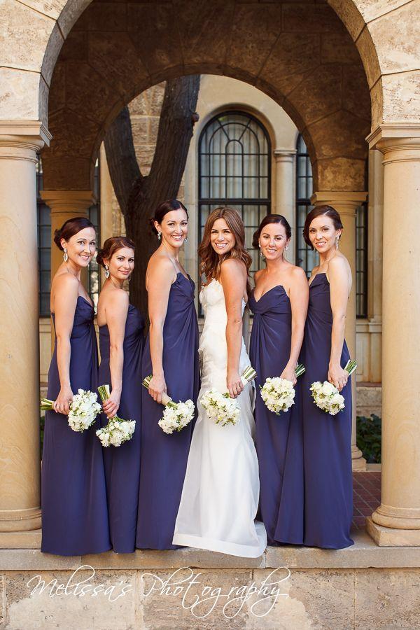 Fabulous colour for the bridesmaids dresses
