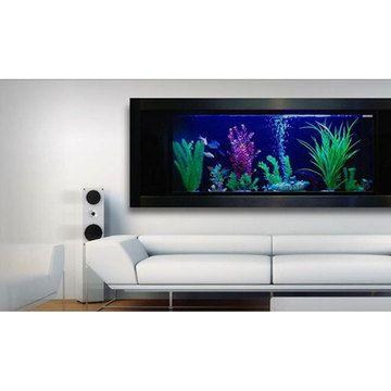 """Wall mounted """"flat screen"""" aquariums by Aquavista"""
