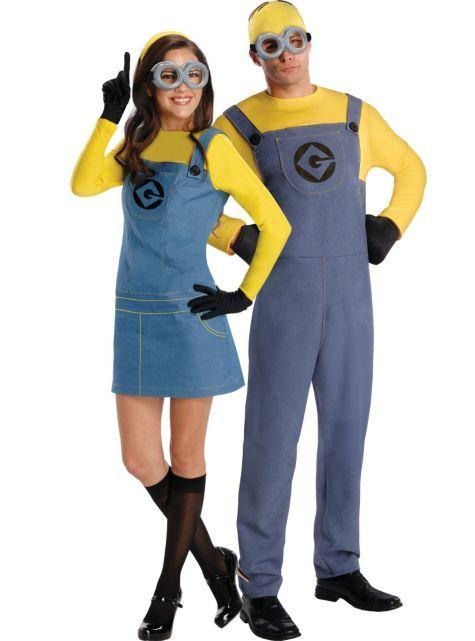 Minion Couples Costumes - Party City  sc 1 st  Pinterest & 12 best Halloween costume images on Pinterest | Costume ideas ...