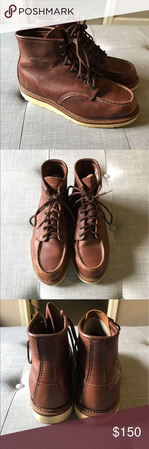 Red Wing 1905 Centennial Boots EUC! Awesome boots, you'll keep these forever! Red Wing Shoes Shoes Boots