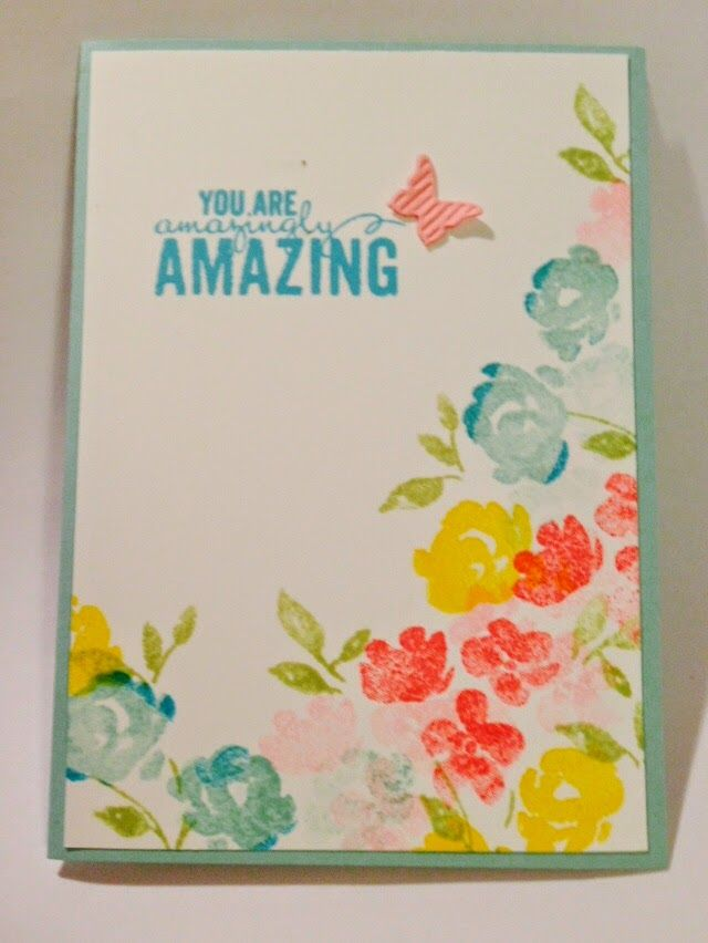 *LaLaLa ymcg crafting*: Painted Petals cards