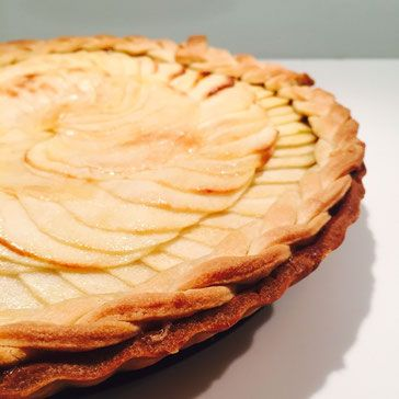 Apple Cinnamon Tart - Home Produce <3