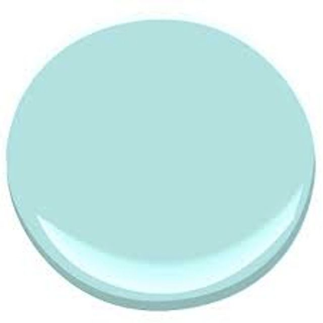 10 Aqua Paint Colors We Absolutely Love: Jamaican Aqua - Benjamin Moore 2048-60