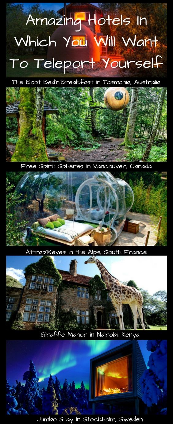 Amazing Hotels In Which You Will Want To Teleport Yourself - Page 2 of 2 - Best Places For Globetrotters