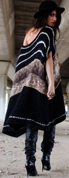Wool Dress | Madame Rosa: Na minha terra não andamos sempre assim, mas que é um charme é!