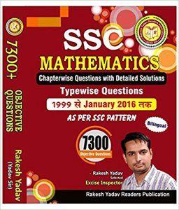 Rakesh Yadav SSC Mathematics 7300 Question PDF