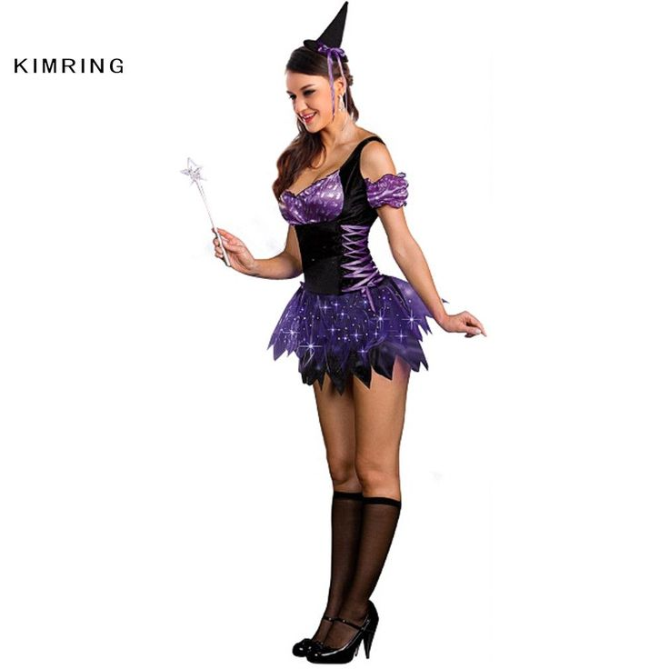 Kimring Sexy Witch Halloween Costume Cosplay Carnival Magic Moment Costume Adult Halloween Costume Fancy Dress