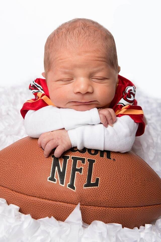 Cutest Chiefs baby: A a present for family in their favorite teams jerseys