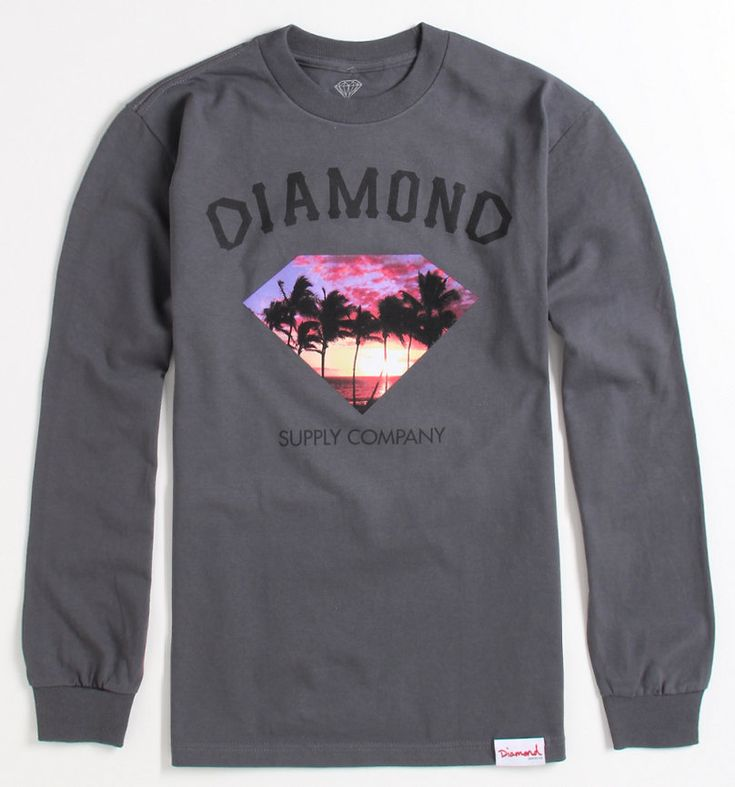 Diamond Supply Co Paradise Long Sleeve Tee - PacSun.com