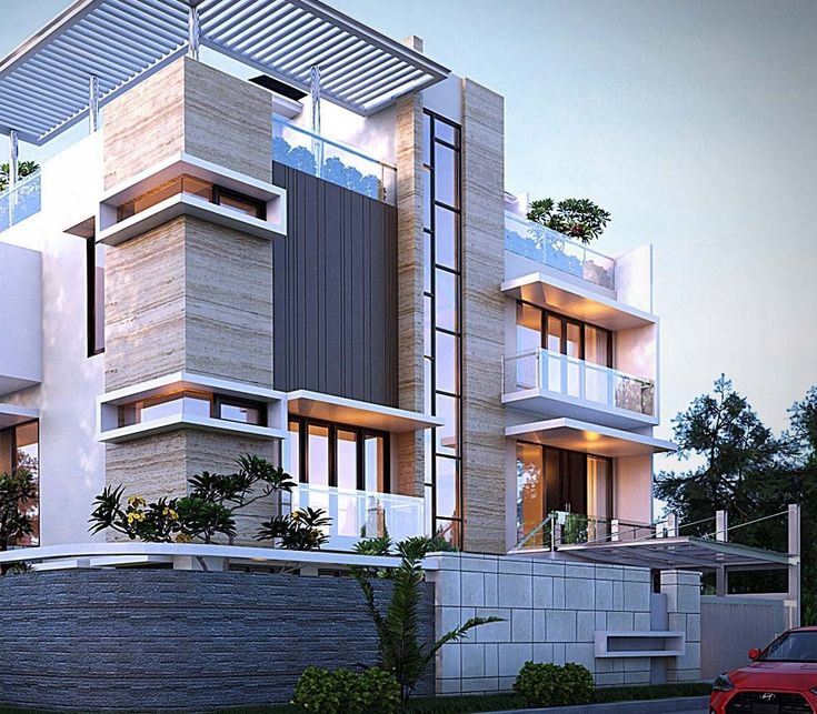 Small Homearchitecture: MODERN TWO FAMILY HOUSE By Cepy