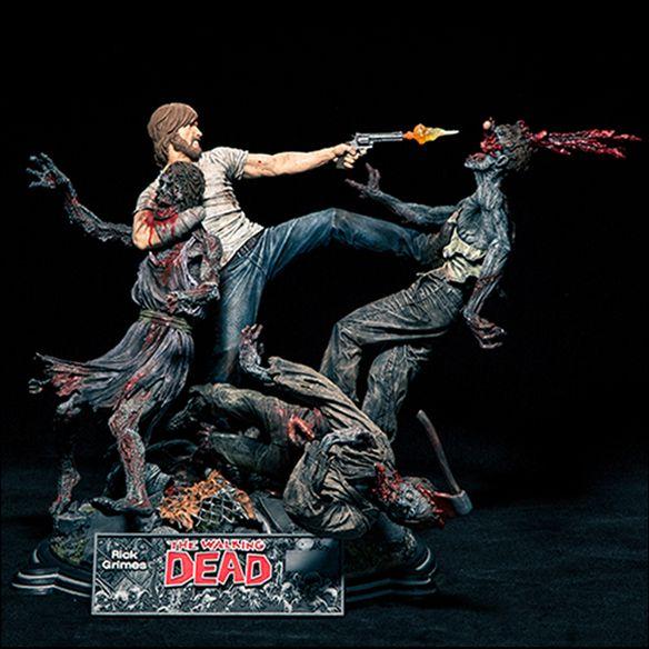 Walking Dead Rick Grimes Resin Statue $329.99