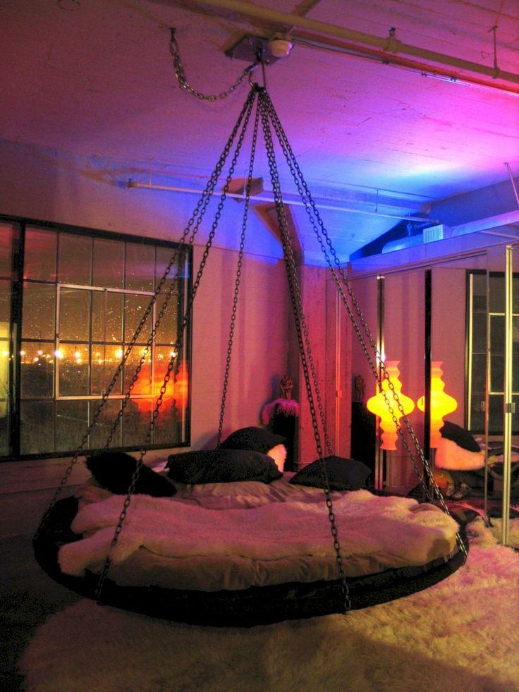 Die besten 25+ Trampolin Raum Ideen auf Pinterest Gymnastikraum - schlafzimmer mit spielbereich eltern kinder interieur idee ruetemple
