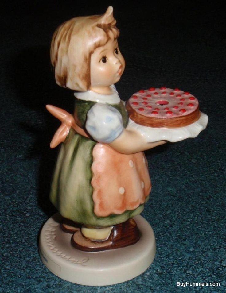"Goebel Hummel Figurine ""Birthday Candle"" #440 TMK6 Xmas Gift $0.99 Starting Bid!"