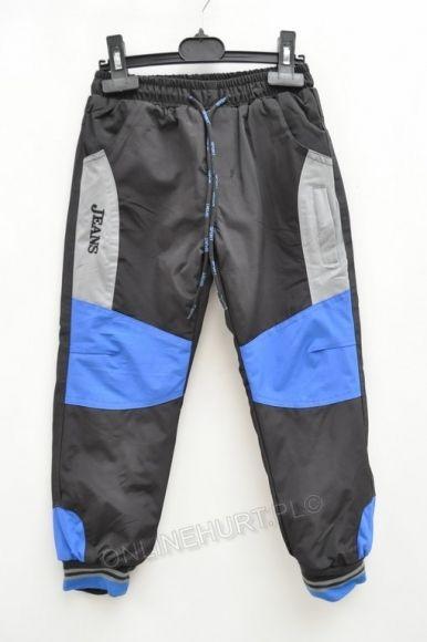 Spodnie dziecięce ocieplane M-6650  _D5  (3-8)