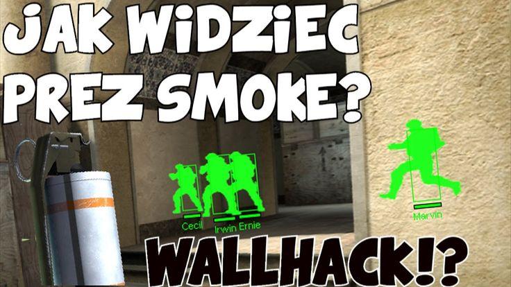 Wallhack!? Widzisz przez smoke! | Top 5 One way smoke de_dust2