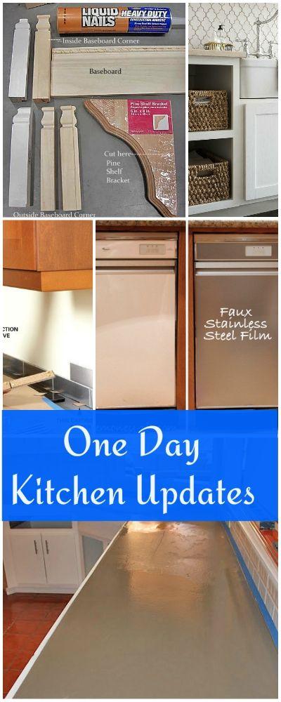 One Day Kitchen Updates