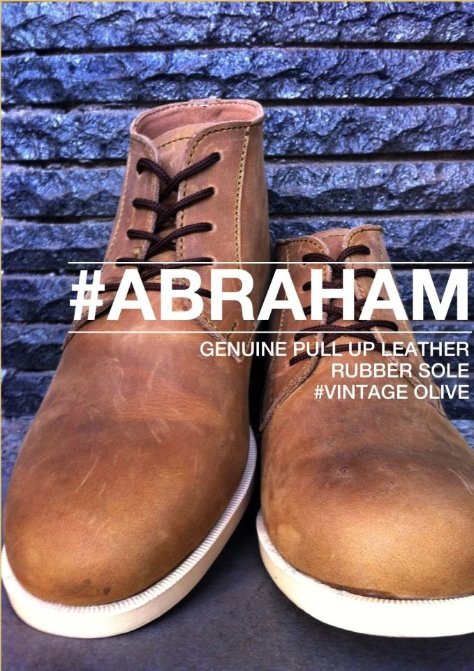 #abraham in vintage olive