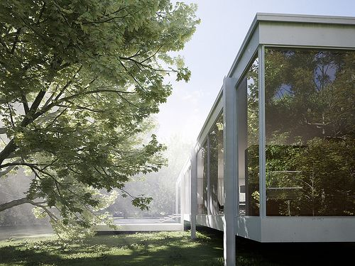 39 best images about Farnsworth House on Pinterest