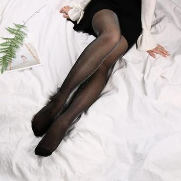 1c7e4df034a 1 PC Women Sexy Stockings Charming Shiny Pantyhose Glitter Stockings Sexy  Ladyintotham