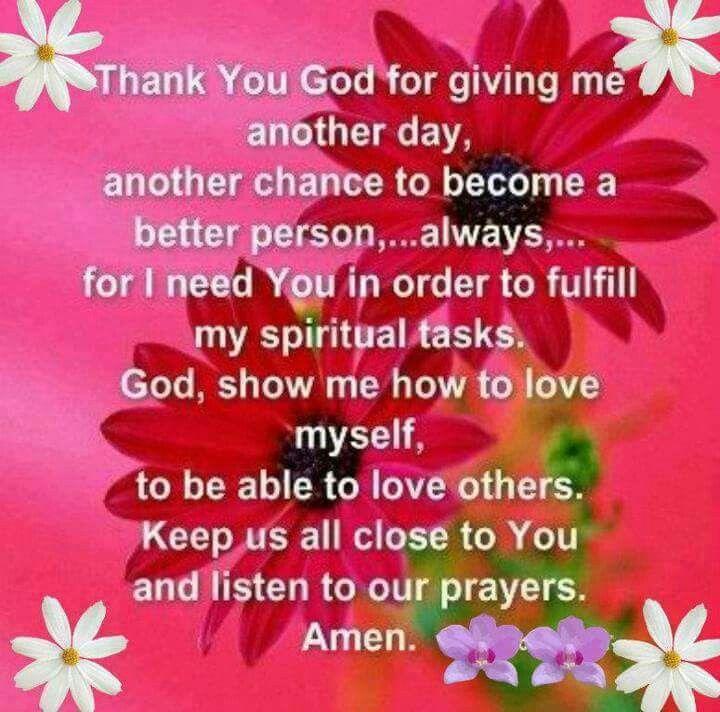 Superb Thank You God