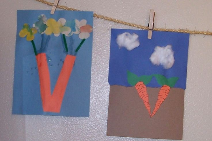 vegetable crafts for preschoolers - Google Search