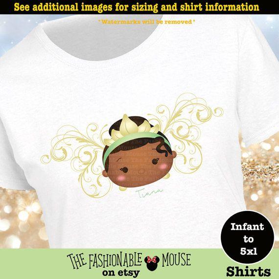 Princess Tiana Shirt Tiana Tsum Tsum Shirt Disney Princess