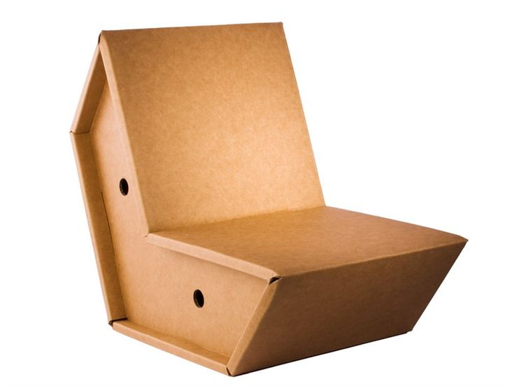 foldable cardboard furniture. cardboard chair otto by pulpo ursula lu0027hoste foldable furniture