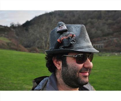 Oyuncak Giysili Fötr Şapka Gri