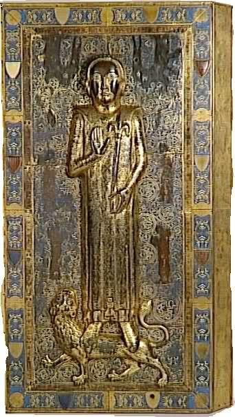 jean de france saint denis | Les tombeaux en cuivre émaillé de Jean et Blanche de France, enfants ...