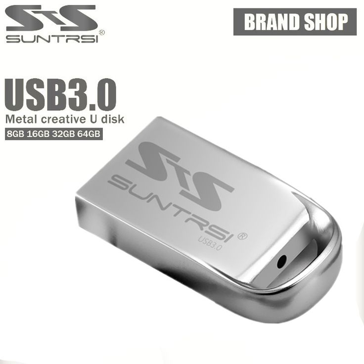 Suntrsi usb 3.0 flash drive mini de alta velocidad pen drive 64 gb pendrive regalo logotipo personalizado usb flash stick envío gratis