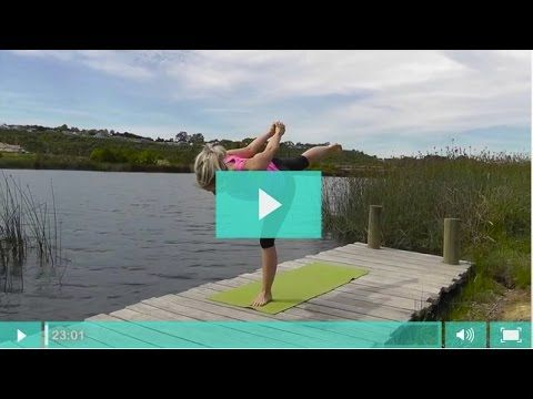 Power Yoga Video For Dressage Riders -