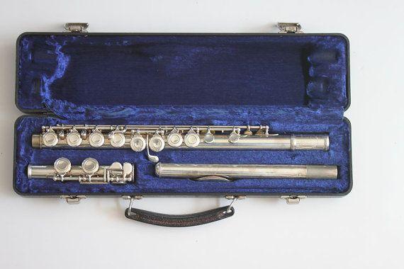 Armstrong Flute  Vintage Musical Instruments  Vintage by OLDMOE