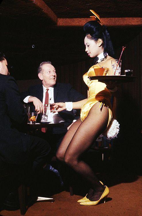 1950s and 1960s Playboy Bunnies New York Playboy Club ...