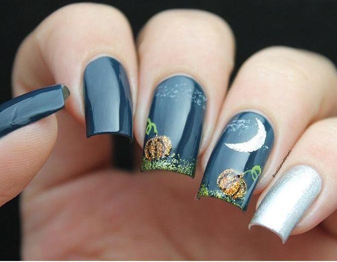 287 best Nailspiriation images on Pinterest | Halloween nail art ...