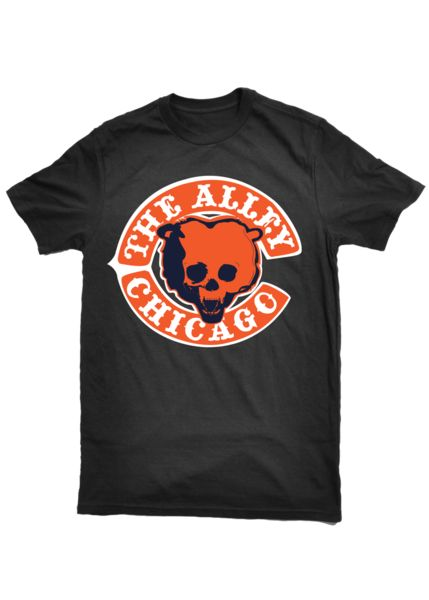 The Alley Chicago Football Parody T-shirt - The Alley Chicago