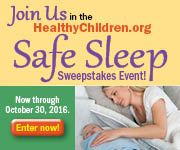 ​About 3,500 babies die each year in the United States during sleep because of unsafe sleep environments. Some of these deaths are caused by entrapment, suffocation, or strangulation. Some infants die of sudden infant death syndrome (SIDS). However, there are ways for parents to keep their​ sleeping baby safe.